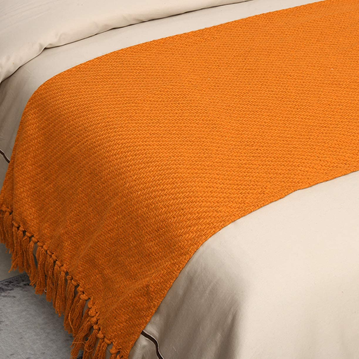 Year-end annual account BAM - Store Knitting Blankets with Runner Mod Dedication Bed Tassel Luxury