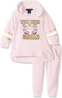 Limited Too Baby-Girls Pullover Fleece Jog Set Layette Set - Multi