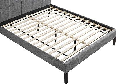 Amazon Com Zinus Alexis 12 Inch Deluxe Wood Platform Bed