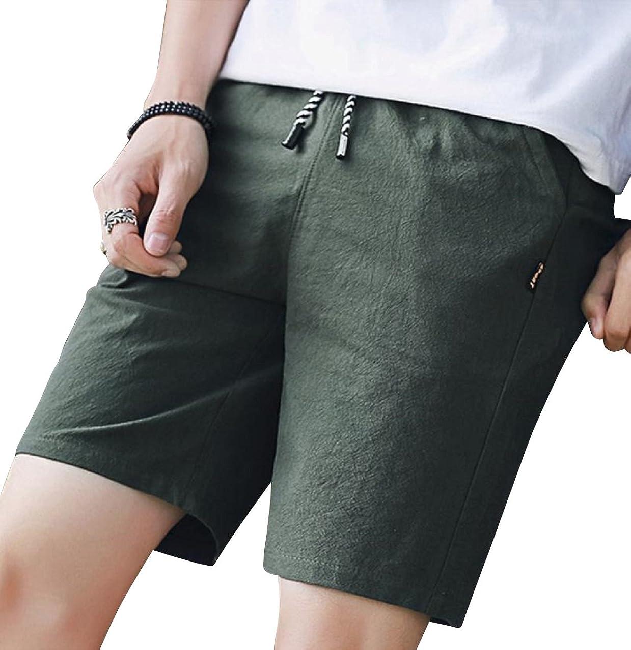 毛皮試す疫病(ライズオンフリーク) RISEONFLEEK メンズ ハーフパンツ 短パン ズボン 無地 柄 春 夏 大きい 小さい サイズ GB-35
