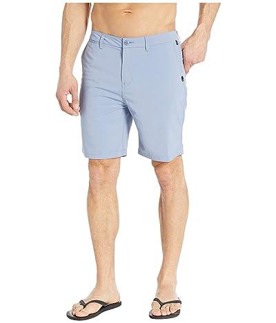 Quiksilver Union Dry Twill Amphibian 19 Shorts (Stone Wash) Men