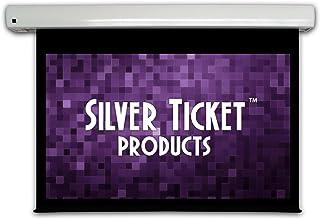 "SME-169100 Silver Ticket 100"" Diagonal Matte White Dual Wall/Ceiling Mounted Motorized Electric Screen"
