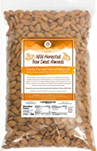 Raw Almonds Sweet Wild Harvested - Fresh & Plump - Naturally Steam Pasteurized 100% Natural Almonds - Family Farmed Since 1875 3lb. 5 & 10lb Bulk Bags Available - Ellie's Best