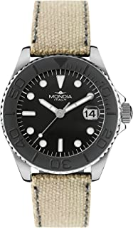 Mondia madison Unisex Analog Quartz Watch with Synthetic leather bracelet MI764-2CF