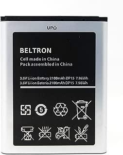New BELTRON 2100 mAh Replacement Battery for Verizon Ellipsis Jetpack MHS900L 4G LTE Mobile Hotspot