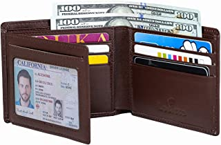 genuine leather wallet mens