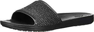 Crocs Womens Sloane Ombre Diamante Slide