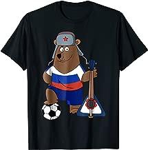 Russian Soccer Bear   Russia Football and Fans Shirt