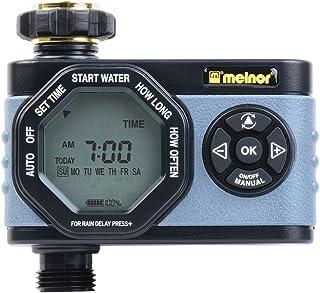 مبرمجة ميلنور بسيطة ومرنة، سهلة الاستخدام للغسيل اليدوي 53015 مؤقت مياه رقمي أحادي المخرج 53015، منطقة واحدة