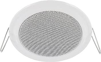Altavoz empotrable–Metal–11W RMS–45W de Potencia Musical–Diámetro 106mm–Diámetro de la instalación 89mm–Montaje de sujeción