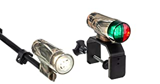 attwood Portable All-Craft LED Boat Navigation Light Kit - Realtree Max-4 Camouflage Portable All-Craft LED Boat Navigation Light Kit 14197-7 - Realtree Max-4 Camouflage