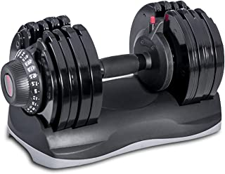 Merax Deluxe 71.5 LBS Adjustable Dial Dumbbell for Home Gym 1 PCS (Single Unit)