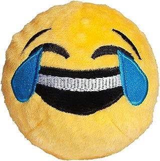 Fab Dog Crying/Laughing Emoji Faball Dog Toy