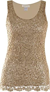 Best gold shell blouse Reviews