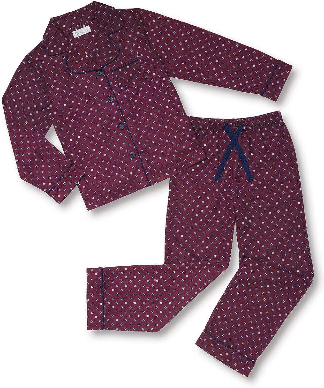 PajamaGram Pajamas for Kids - Kids Button Down Pajamas
