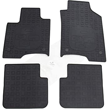 FIAT PANDA TAPPETI AUTO tappetini posteriori uniti 4block 3decori