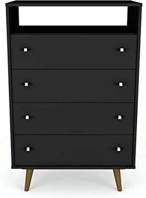 Amazon.com: Black Sonoma 5 Drawer Chest: Kitchen & Dining