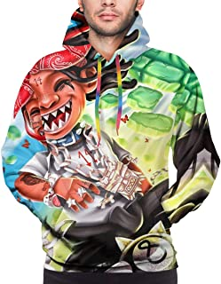 7eaven Shop Skull T Shirt for Men 3D Printed Women Sweatshirts Hoodies