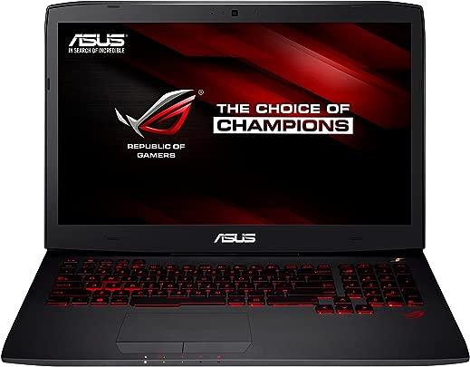 Asus ROG Gaming G751JY-T7163H 43 9 cm  17 3 Zoll  Laptop  Intel Core-i7 4720HQ  2 6GHz  16GB RAM  1TB HDD  512GB SSD  NVIDIA Geforce GTX 980M  Bluray  Win 8 1  schwarz