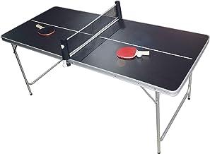 PingPong-Classics Inklapbare tafeltennistafel, h x b x d: 180 x 80 x 76 cm, draagbaar inclusief net, 2 rackets, balhouder ...