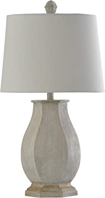 Glover Table Lamp 26 Quot H Gloss White Amazon Com