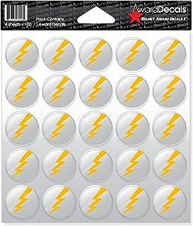 Award Decals Lightning Bolt (100 Stickers)