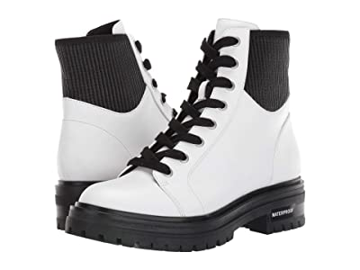 Kenneth Cole New York Rhode Lace-Up Boot WP (White) Women