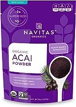 Navitas Organics Acai Powder, 8 oz. Bag — Organic, Non-GMO, Freeze-Dried, Gluten-Free