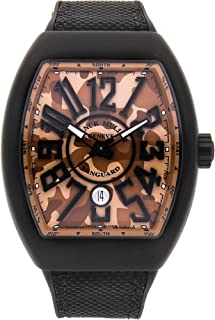 Vanguard Mechanical (Automatic) Brown Dial Mens Watch V45 SC DT TT NR MC SB Camouflage (Certified Pre-Owned)