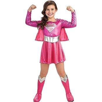 Rubies - Disfraz de Supergirl  color rosa: Amazon.es: Juguetes y ...