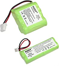 HQRP Battery Kit for Dt-Systems EDT-100, EDT-102, EDT-200, EDT-202, EDT-300, EDT-302 Remote Controlled Dog Training Collar Receiver and Transmitter + Coaster
