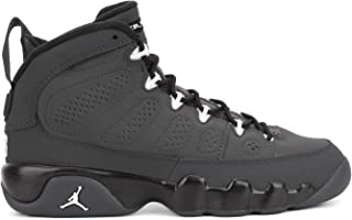 [302359-013] AIR Jordan AJ 9 Retro BG (GS) Grade School Shoes Anthracite White Black