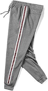 Huntrly Pantalones Casuales para Hombre, Pantalones Holgados de Invierno de Gran tamaño, Pantalones de Cintura Acolchados ...