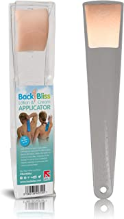 Lotion Applicators for Your Back, Easy Reach Back Lotion Applicator - Men and Women. Apply Lotion to Back. Self Application of Suncreen, Fake Tanner, Skin Cream, Body Moisturizer. Clear