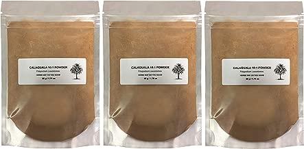 Calaguala Kalawalla Rhizome 10:1 Powdered Extract Polypodium Leucotomos 50 g / 1.76 oz (3 Pack Save $18.00)