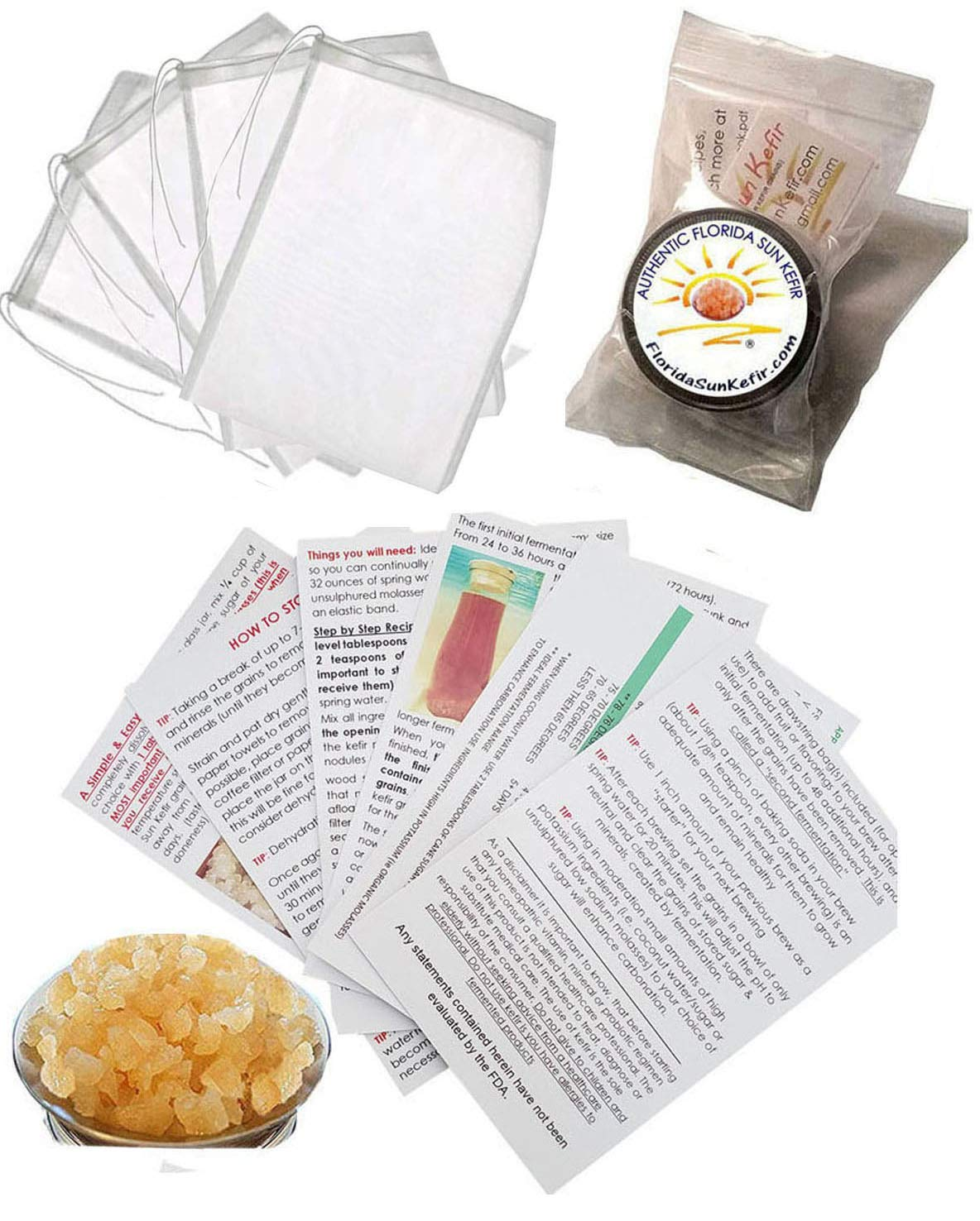 GENEROUS QUARTER OFFicial Cup of Live Kefir Sun Grain Water Popular products Florida