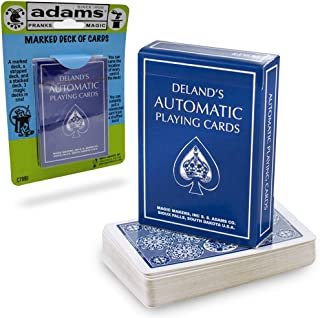 Adams Pranks and Magic - Deland's Marked Deck - Classic Novelty Magic Trick