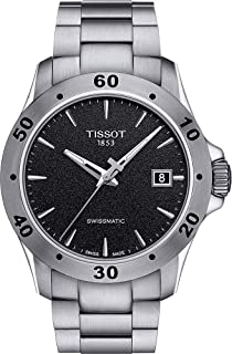 Tissot Men's V8 Swissmatic Stainless Steel Automatic Watch T1064071105100