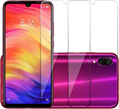 POPIO Full Screen Coverage Except Edges Tempered Glass for Xiaomi Redmi 7/Note 7/Note 7 Pro/Y3 with easy installation kit (Transparent) - Pack of 2