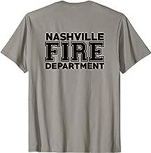 Nashville Tennessee Fire Department Firefighters T-Shirt