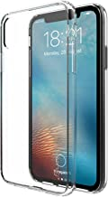 iPhone Xs/X Case, Luvvitt Clear View Case with Hybrid Scratch Resistant Back Cover and Shock Absorbing Bumper for Apple iPhone Xs/X (2017-2018) - Crystal Clear