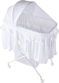 LOVE N CARE Complete Bassinet, White