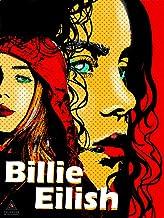 777 Tri-Seven Entertainment Billie Eilish Poster Artwork for Walls Print (18x24), Multi-color