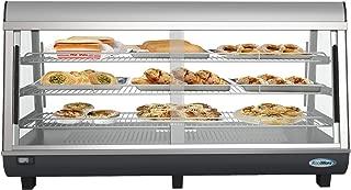 food warmer glass display