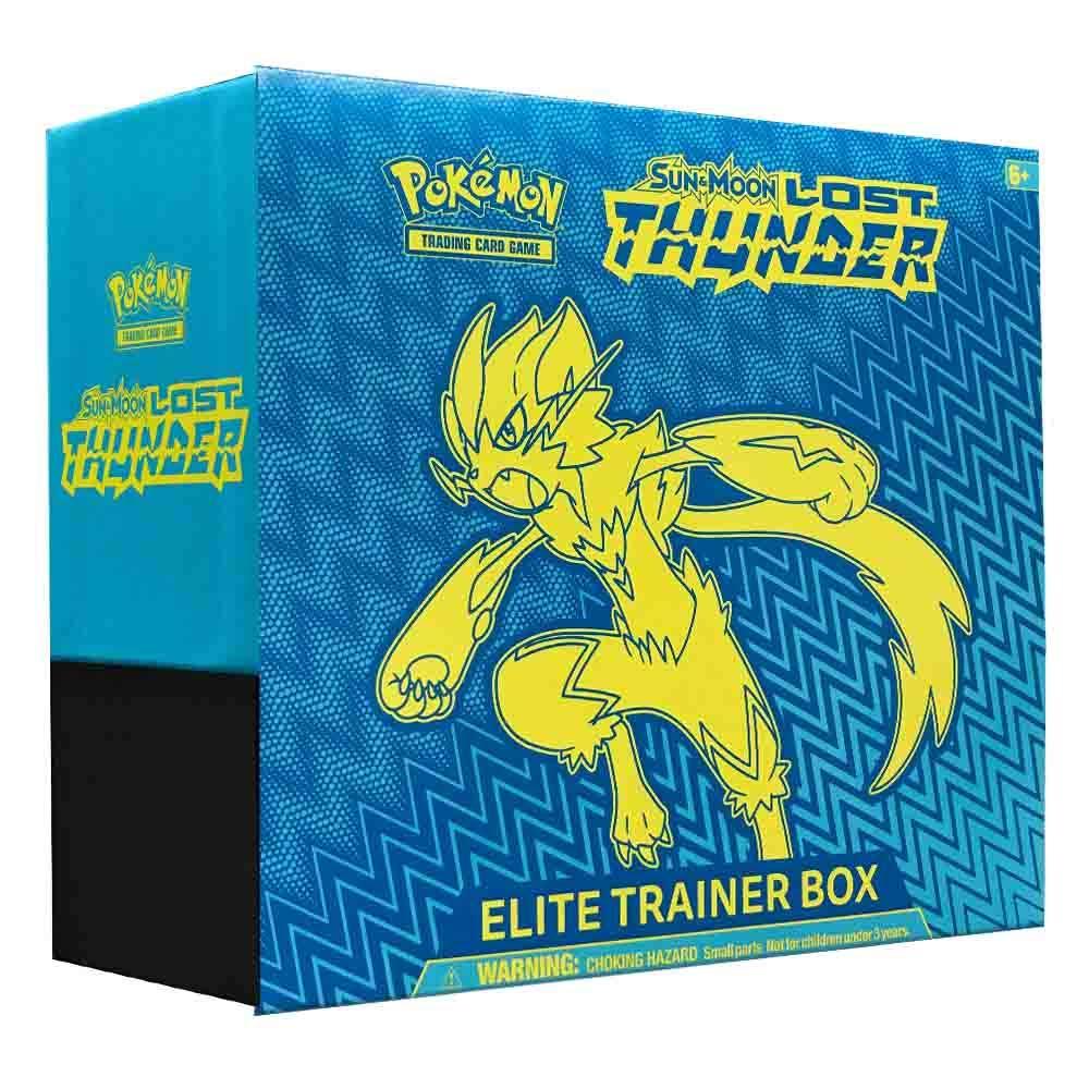 Pokemon Lost Thunder Elite Trainer