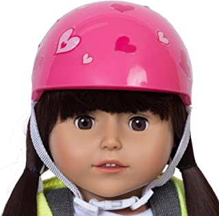 Doll Bicyle and Helmet (Pink Helmet)
