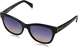 Just Cavalli Sunglasses JC718S 02W Matte Black/Gradient Blue
