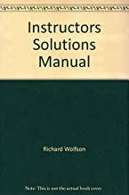 Instructor's Solutions Manual (Physics for Scientists and Engineers)