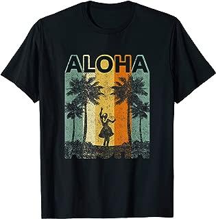 Vintage Style Hula Hawaiian Souvenir Gift Aloha Hawaii Shirt