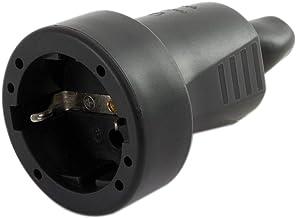 REV Ritter 0512151777 koppeling rubber ISO-inzetstuk, zwart